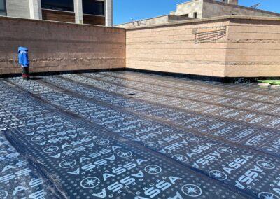 Impermeabilización de patio interior