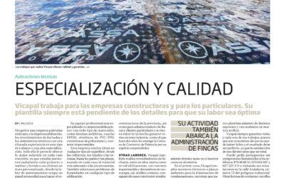 ESPECIAL DE LA CONSTRUCCIÓN